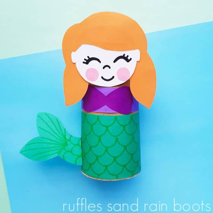 Ariel Paper Roll Craft