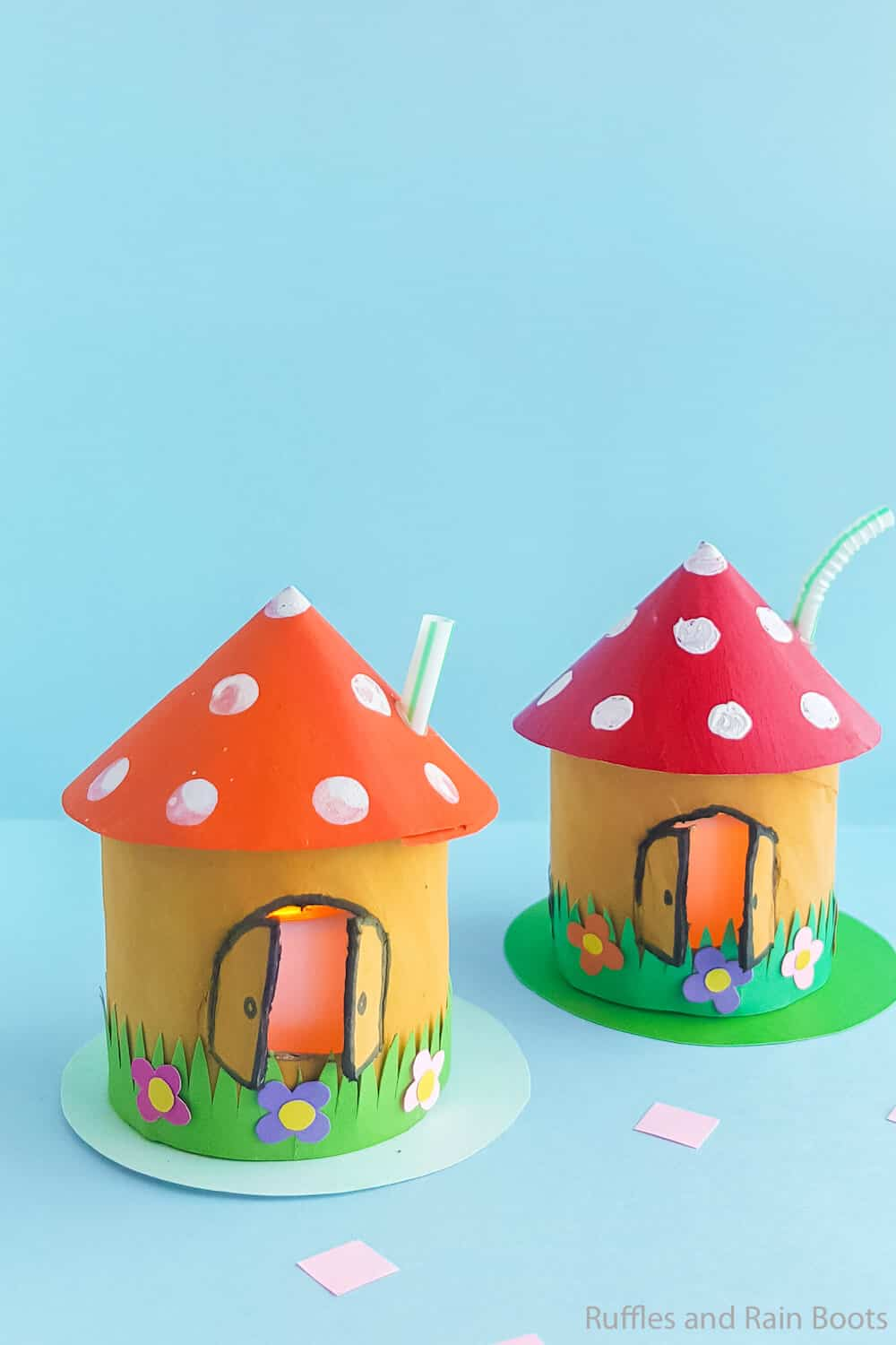 easy fairy house craft for kids