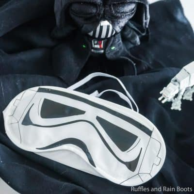 Come to the Dark Side and Make This Stormtrooper Sleep Mask!