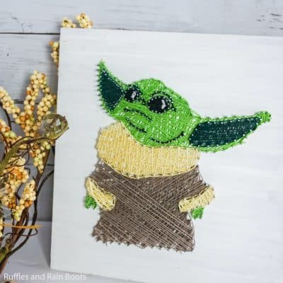 This Baby Yoda String Art is Out of This Galaxy Awesome!