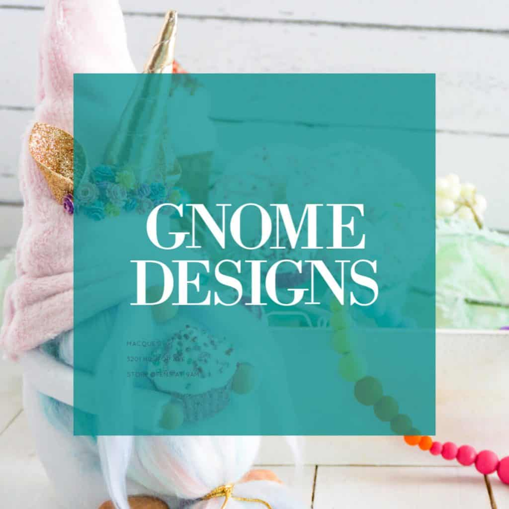 learn how to make diy gnome and use gnome patterns