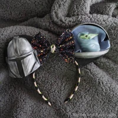 Make These Epic Mandalorian and Baby Yoda Mickey Ears for Your Disney Vacation!