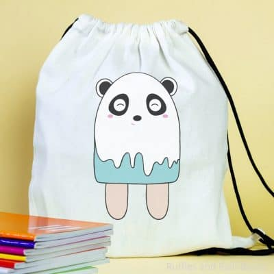 Adorable Panda Popsicle SVG Files are Perfect for Summer Fun!