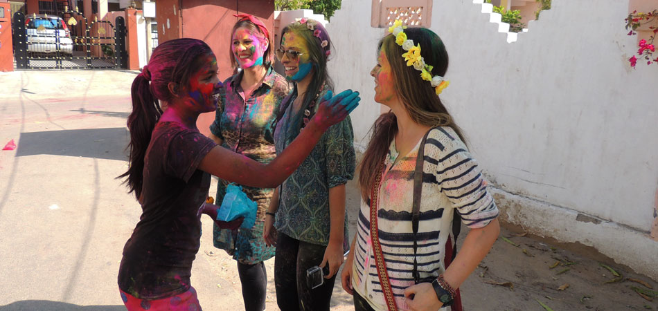 Rustik Travel Holi in Jaipur