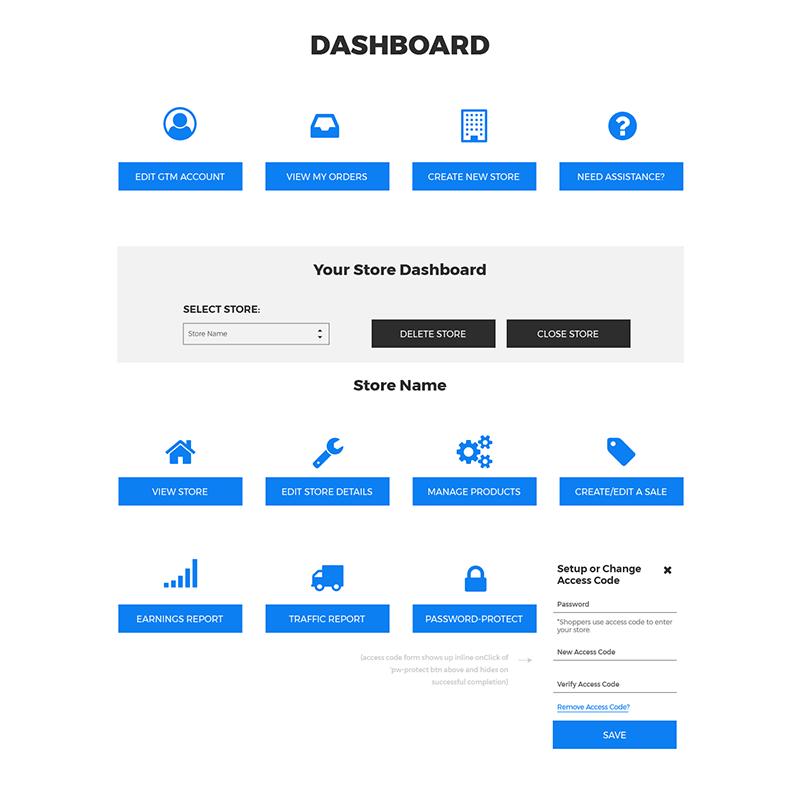 Teamstore Management Dashboard