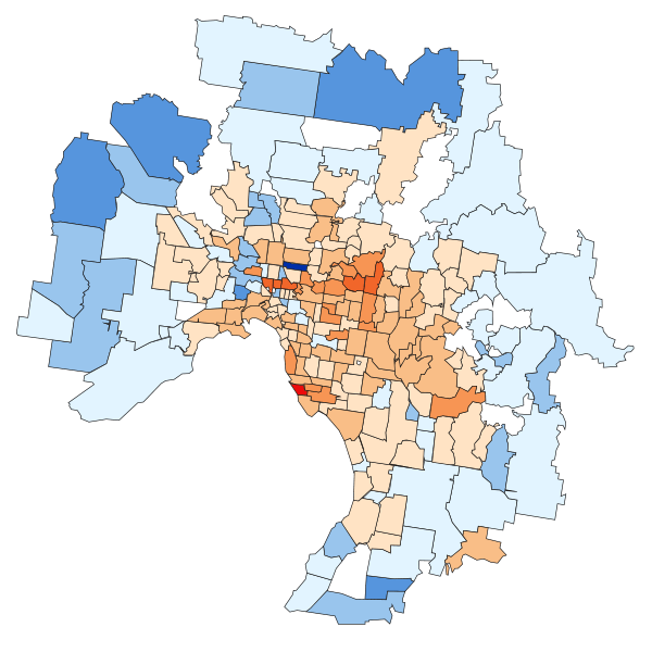 Property prices in most suburbs have already peaked  How