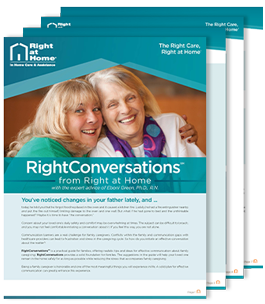 RightConversations from Right at Home | Helping You Help Your Parents with the Aging Process