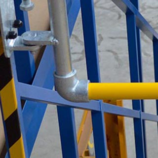 modular fittings for industrial safety gates
