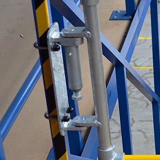 spring loaded safety gate