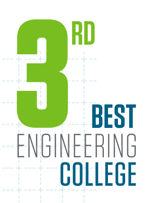 No. 3 engineering college, according to College Factual/USAToday (USAToday, July 2015)