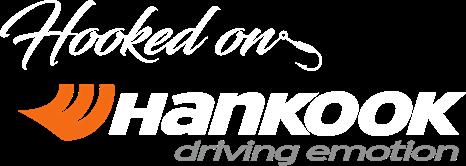 Hooked on Hankook logo