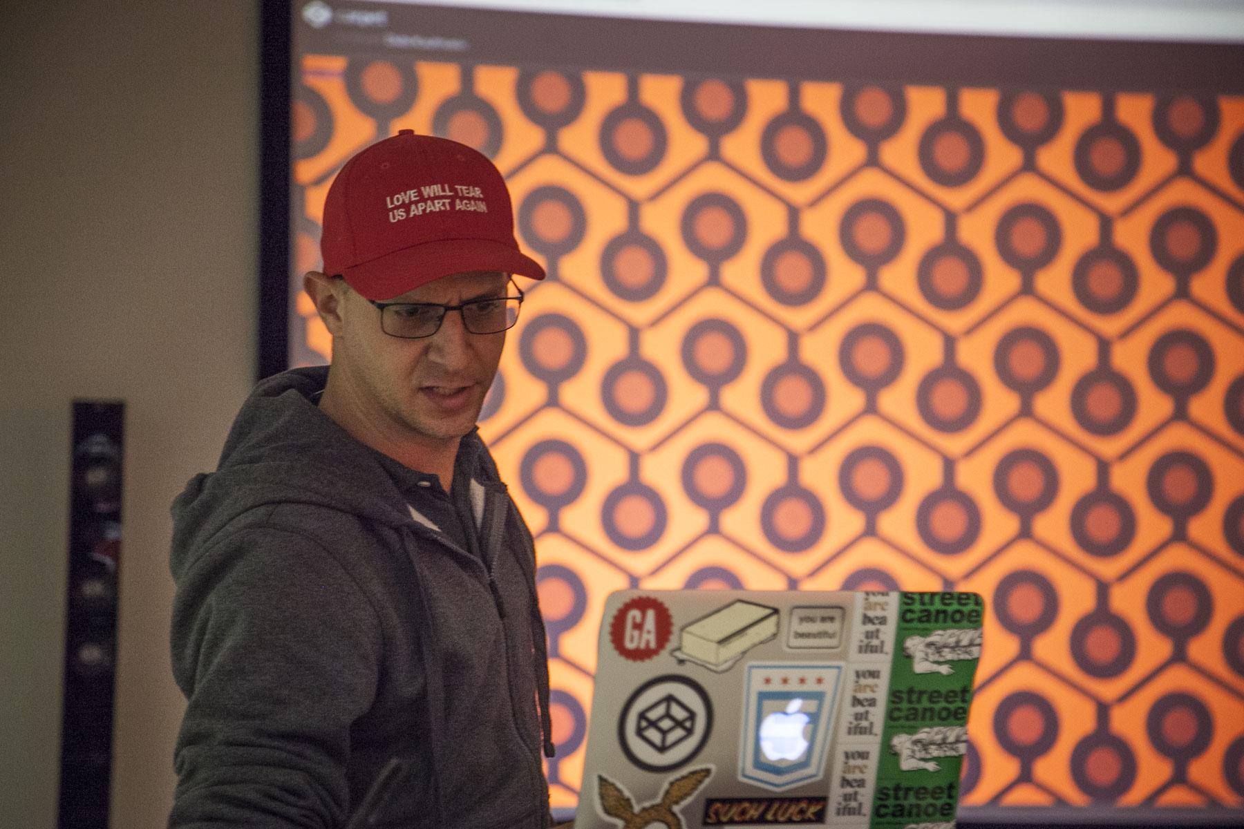 Dubi Kaufmann at CodePen Chicago