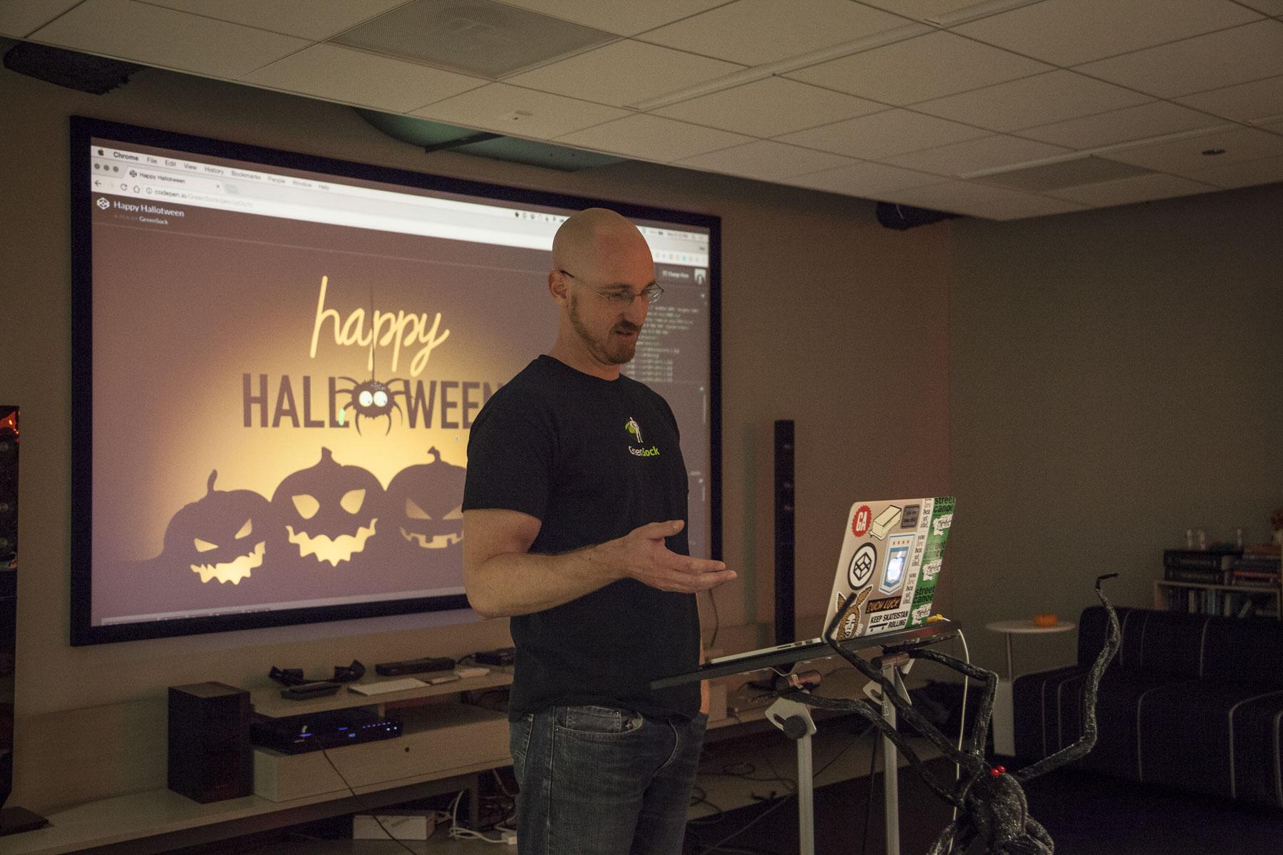 Jack Doyle at CodePen Chicago