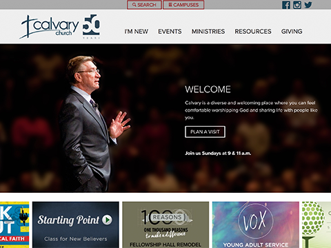 Calvary Website