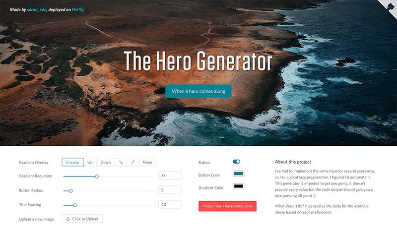 Hero Image Generator