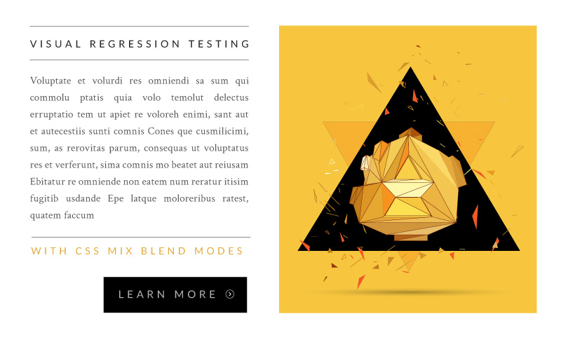 Visual Regression Testing with CSS Blend Modes | CSS-Tricks