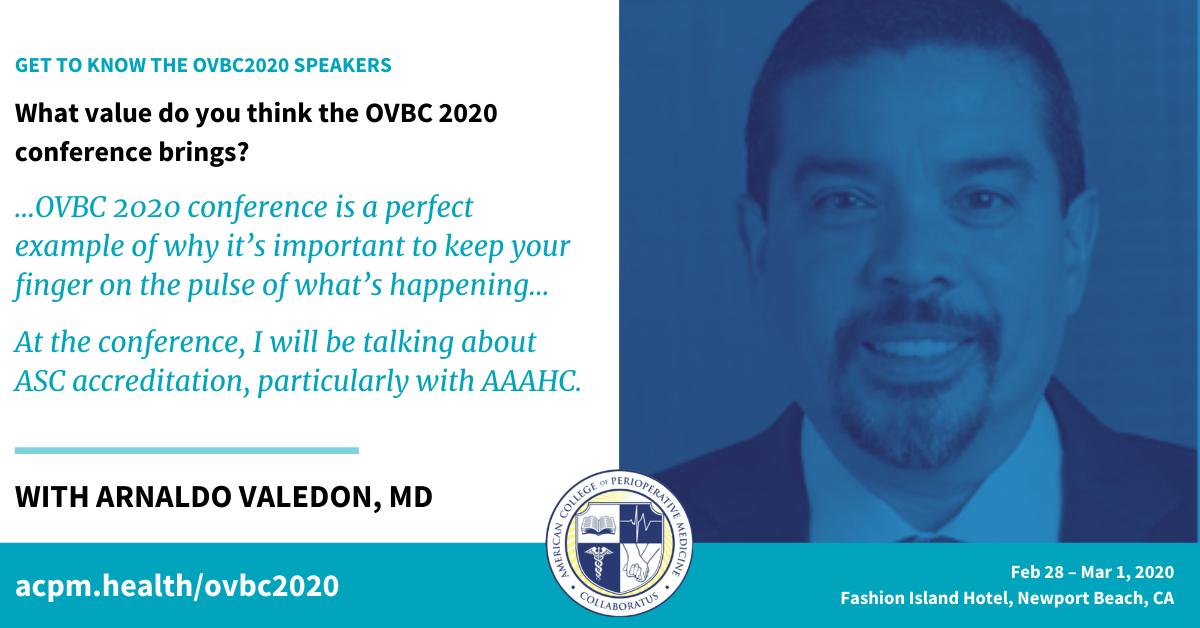 Dr. Arnaldo Valedon –OVBC2020 Speaker