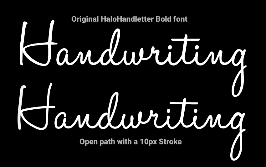 Animated handwriting effect (part 1) by Craig Roblewsky on