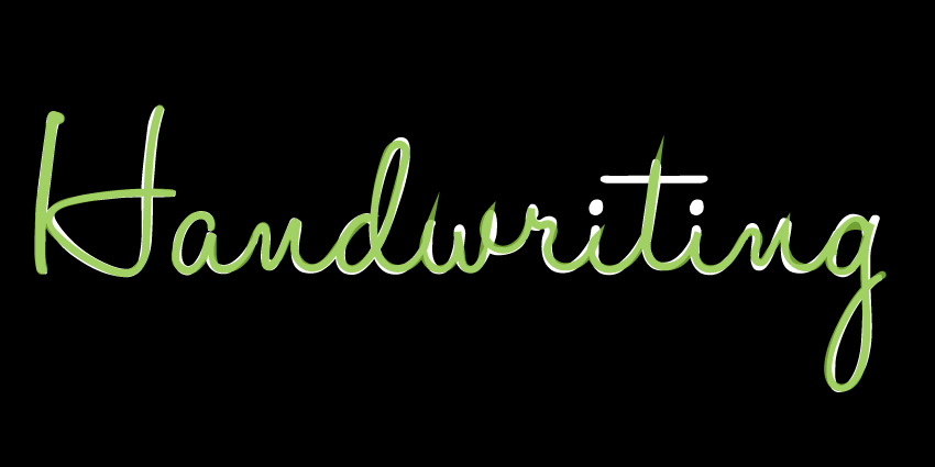 Animated handwriting effect (part 1) by Craig Roblewsky on CodePen