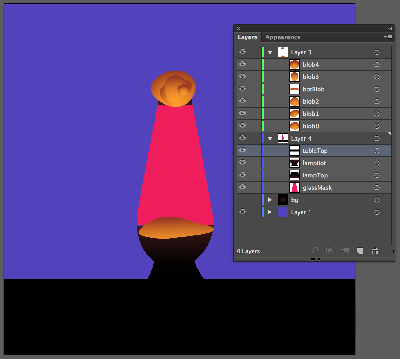 Lava lamp png - As I Mentioned Above Ai Insists On Adding Ids To Layers It Would Be More Useful If It Added Class Names That Way You Could Have Several Layers That