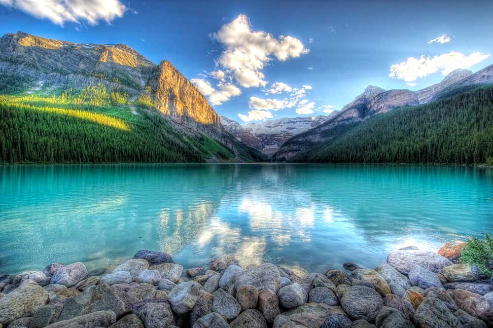 Photograph of Lake Louise, British Columbia