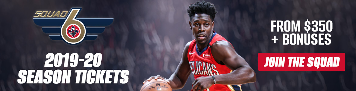 Click here for Pelicans Season Tickets