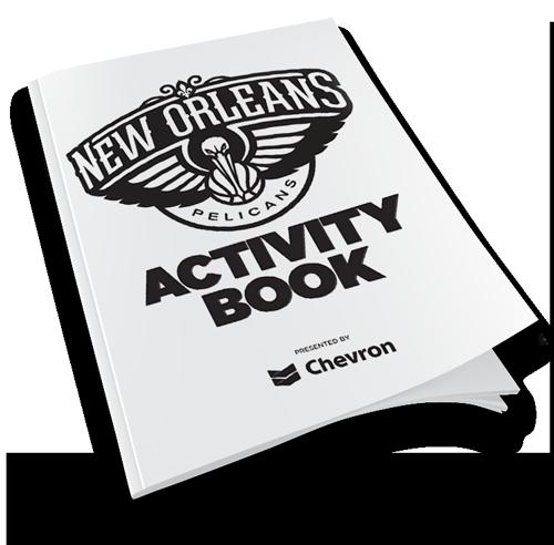 New Orleans Pelicans Activity Book New Orleans Pelicans