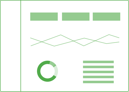 minimal dashboard