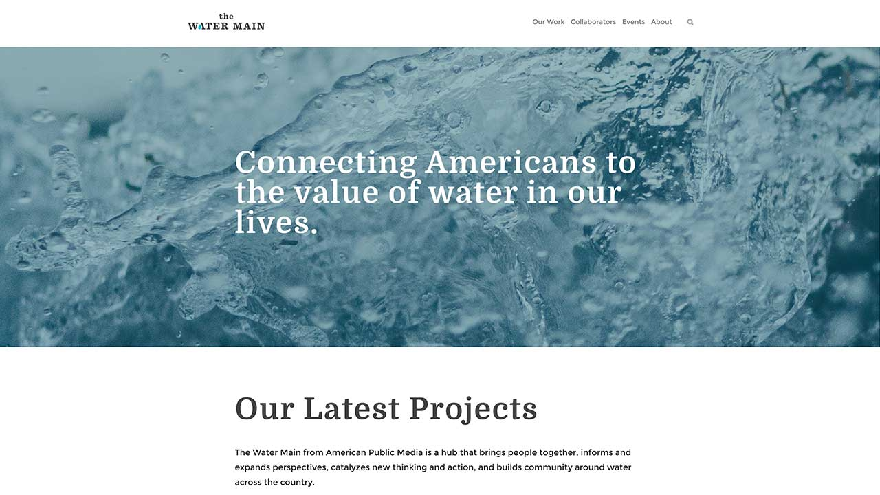 The Water Main Homepage