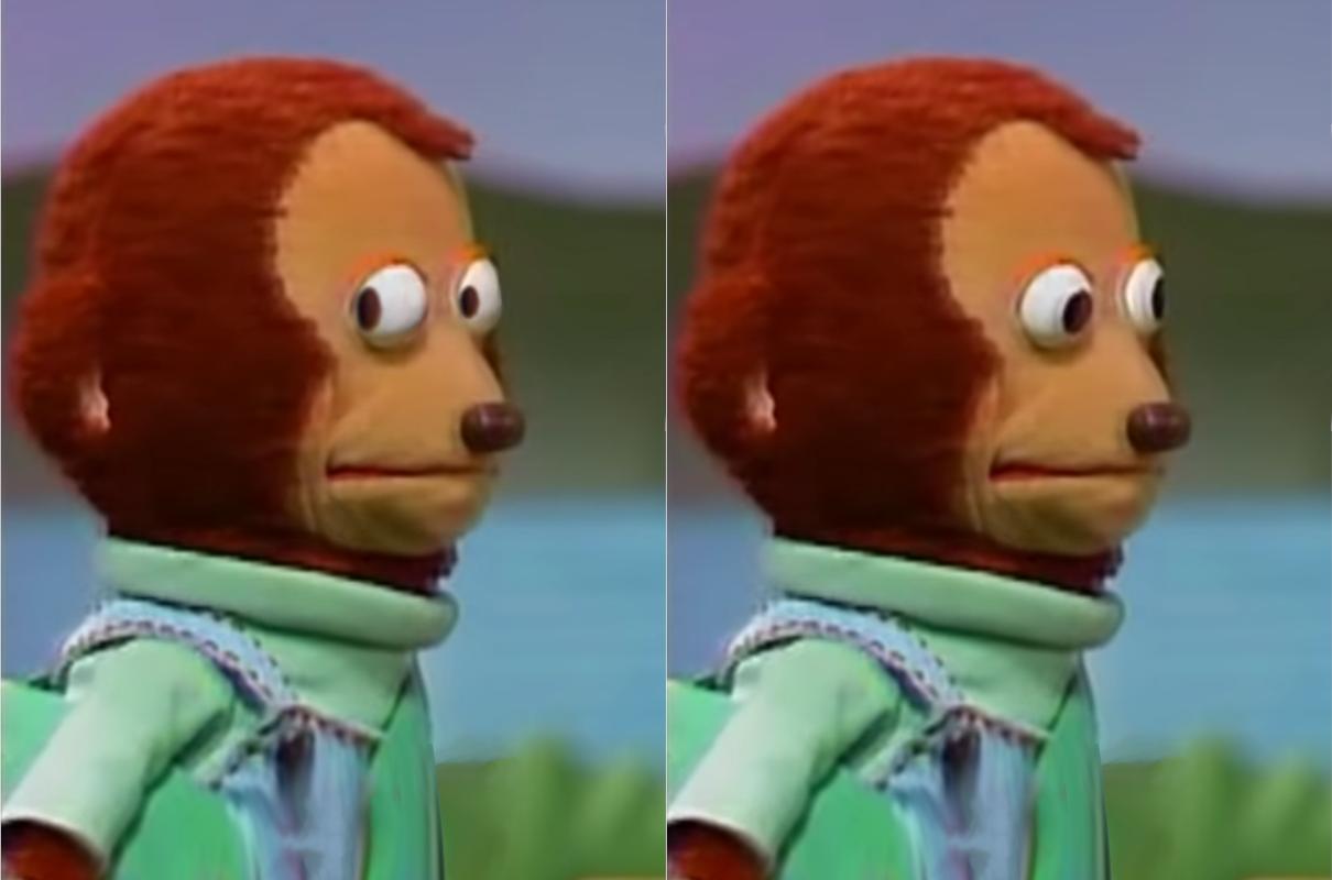 Awkward monkey meme