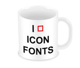 I  Icon Fonts