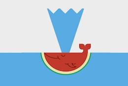 Whale Like Watermelon