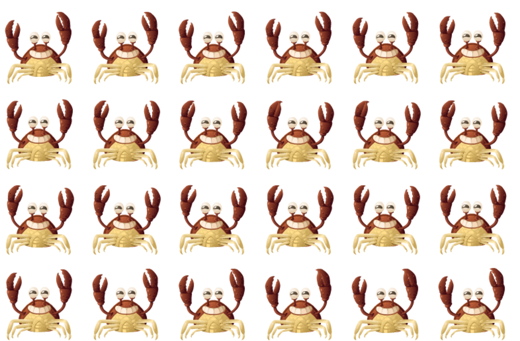 Glitch's Happy Crab