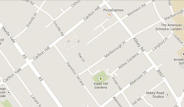 Abbey Road Map