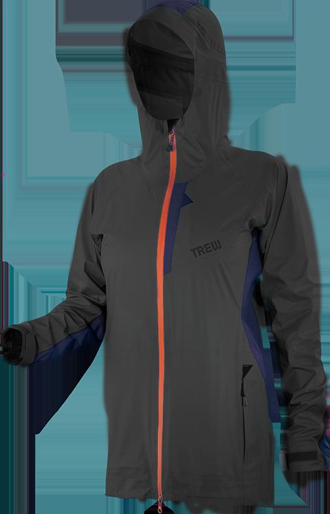 W's BeWild Rain Jacket detail