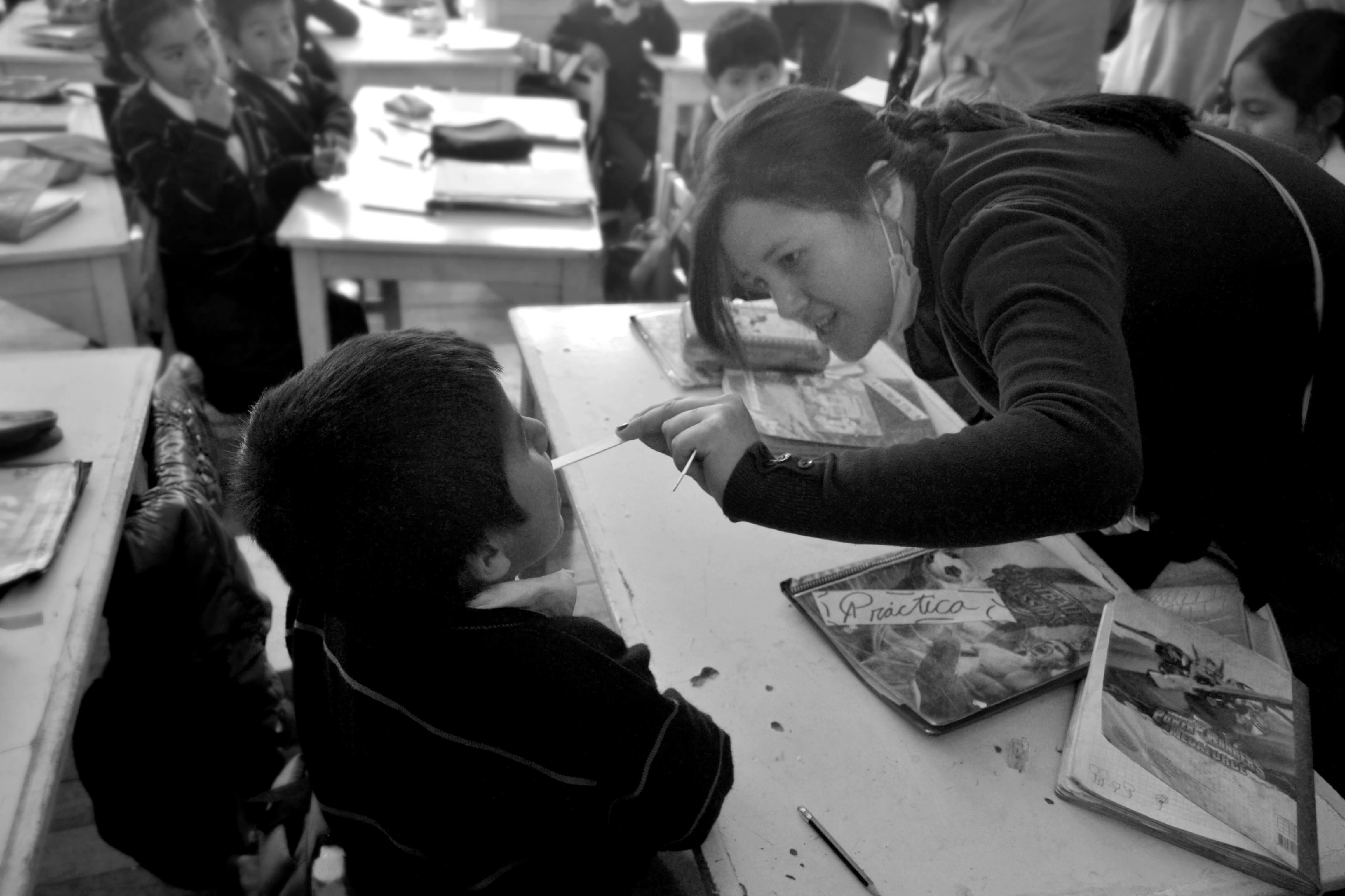 Social responsibility with children - Classic Alpaca Peru