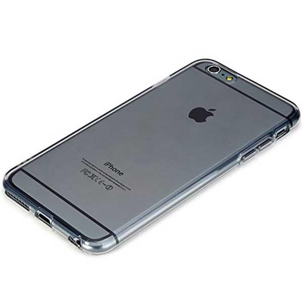 CASE SILICON IPHONE 6 PLUS TRANS