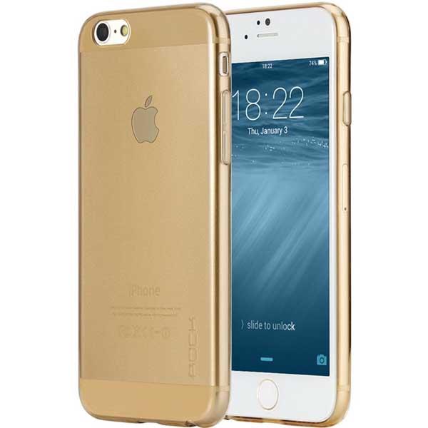 CASE SILICON IPHONE 6 PLUS GOLD