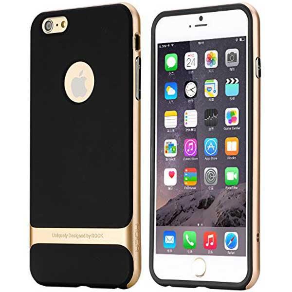 CASE IPHONE 6 PLUS NEGRO/GOLD