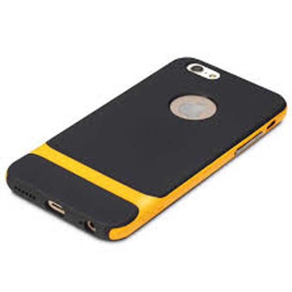 CASE IPHONE 6 PLUS NEGRO/ORANGE