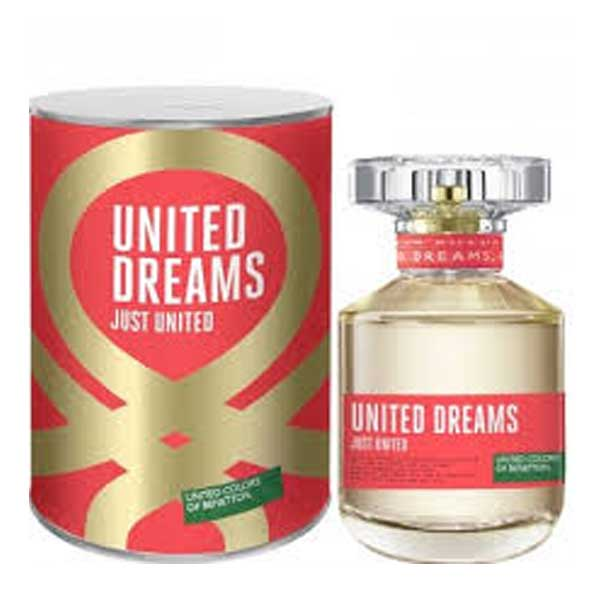 JUST UNITED BY BENETTON DAMA 80ML