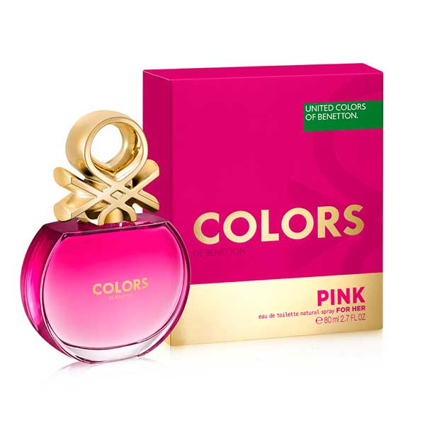 COLORS PINK BY BENETTON DAMA 80ML