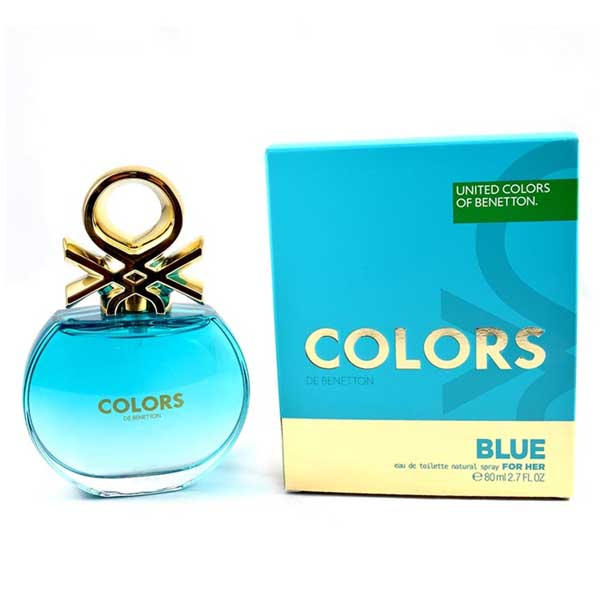 COLORS BLUE BY BENETTON DAMA 80ML