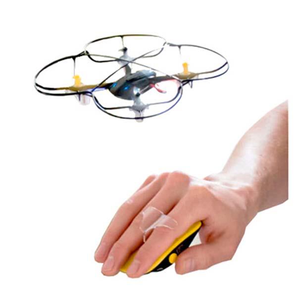 MINI DRONE OPERADO POR LA MANO