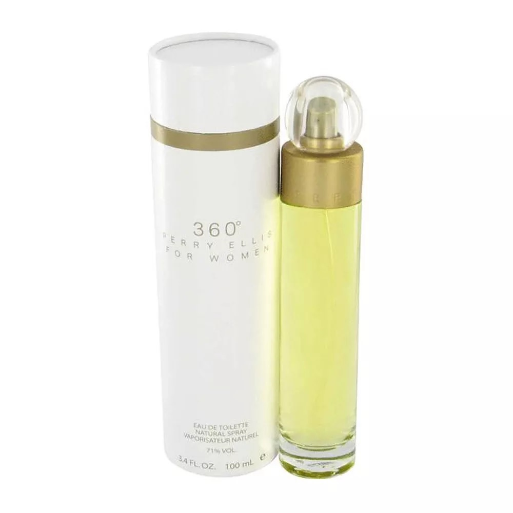 PERFUME PARA DAMA 360º PERRY ELLIS EDT 100ML