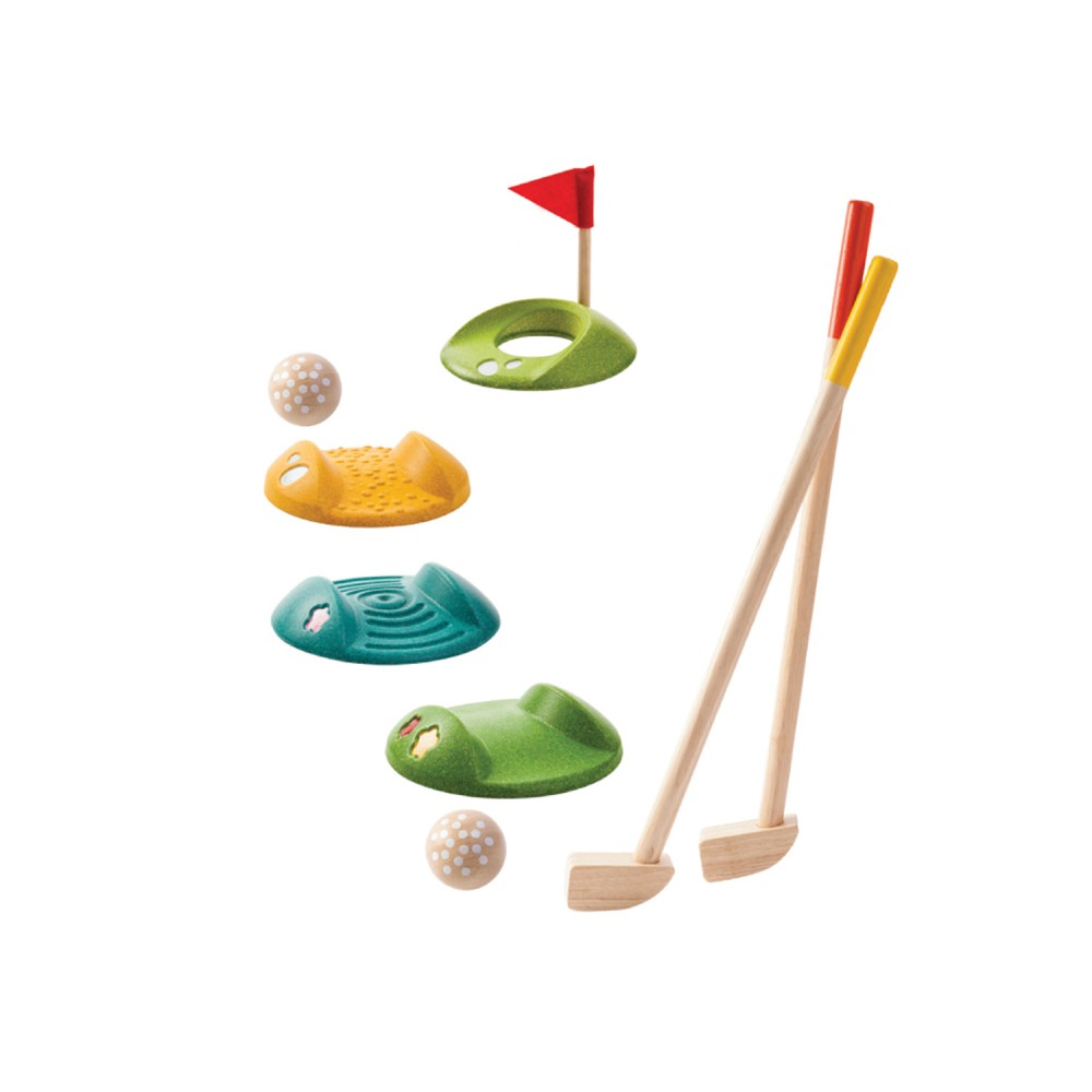 JUEGO COMPLETO DE MINI GOLF PLAN TOYS 5683
