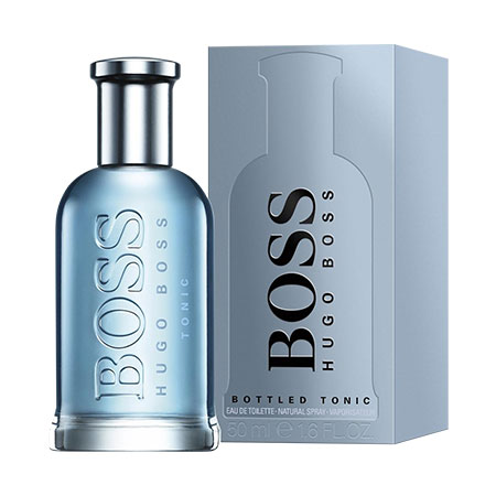 FRAGANCIA PARA CABALLERO BOTTLED TONIC HUGO BOSS  EDT 100ML