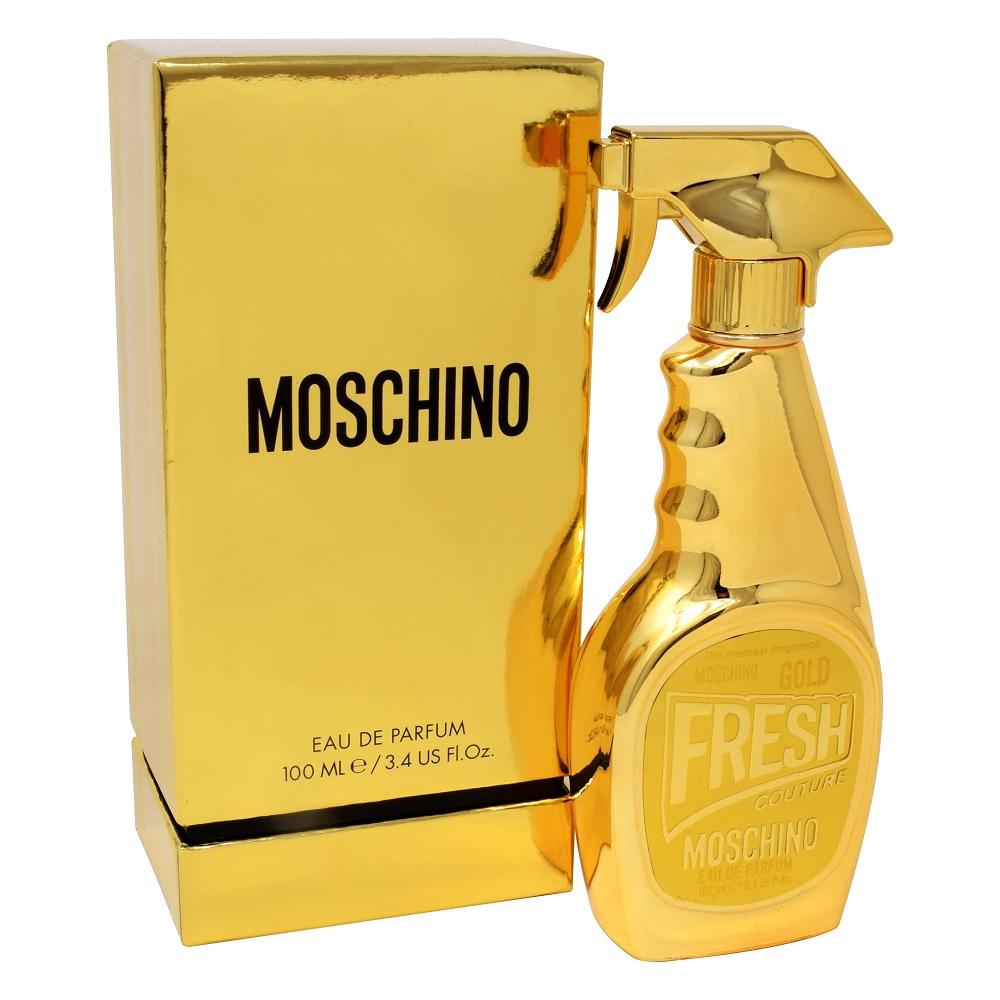 FRAGANCIA PARA DAMA FRESH GOLD MOSCHINO EDP 100 ML