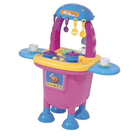 COCINA INFANTIL MY TOY MINI CHEF ROSA