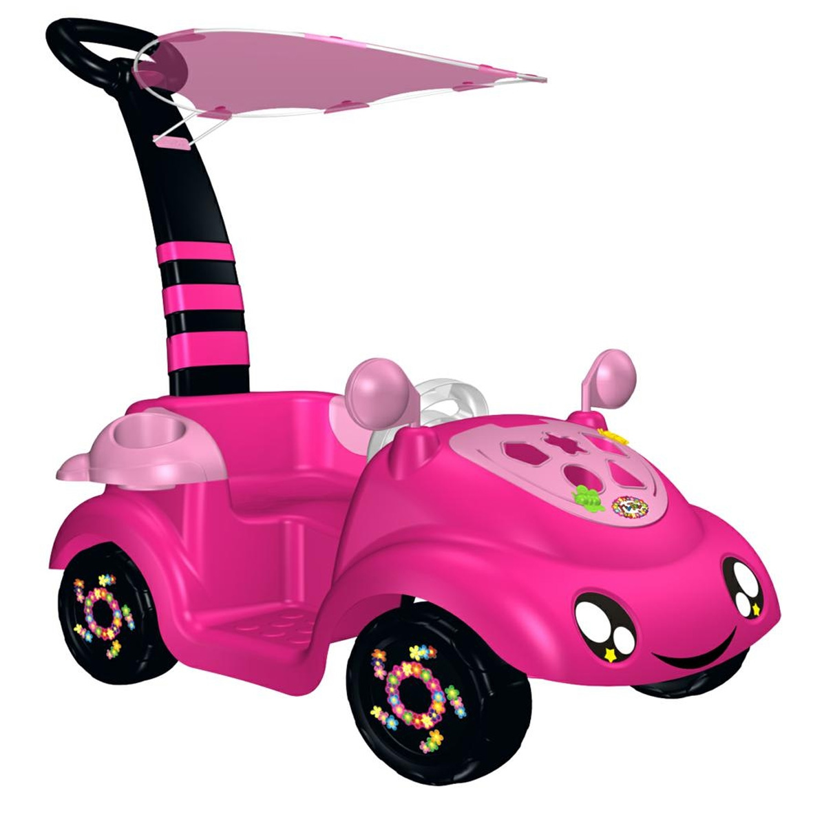 MONTABLE CON SUJETADOR MY TOY MINI MOVIL ROSA